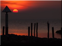 Feliz Quarta Sunset (Ostseetroll) Tags: light sunset water licht wasser sonnenuntergang olympus timmendorf poel e620