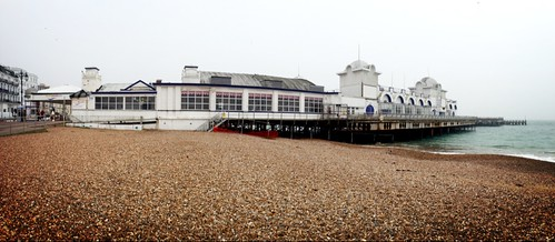 Southsea Pier - iPhone Pano