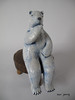Polar bear (danahaneunjeong) Tags: bear ceramic polarbear polar icebear 인형 도자기 곰 북극 북극곰 도자인형