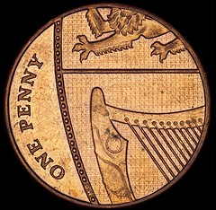 English Penny (UCL News) Tags: art coins ucl microscope slade universitycollegelondon