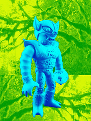 Jeff (eat balls) Tags: amazon gravy microman sofubi