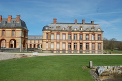 The Dampierre castle near Paris (latin_drumer) Tags: