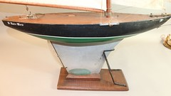 Vintage gaff rigged pond yacht (oldsailro) Tags: vintage gaff rigged pond yacht model sailboat boat children boy girl beach waves sunshine playing fun water summer time sun sea toy wooden ship miniature antique old lake pool regatta adolescence fashioned park people spectators watercraft youth group sailing race mast boom keel hull child