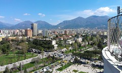 View from the sky tower (georgesburrough) Tags: skytower albania tirana tirane