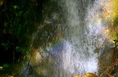 Rainbow (MahanMD) Tags: green water colors waterfall drops cool rainbow colorful iran sunny shiraz waterdrops ایران سبز رود آبشار fars آب آفتاب نورآباد سکوت سبزه نهر bavan canon400d آرامش رنگینکمان خزه nourabad بوان