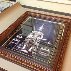 รูป ชิ้นใหม่ ของอั้ม สวยเปล่า ชอบกรอบรูป 3ชั้น กระจก