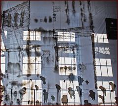 Ostsee-Insel Usedom (Helmut44) Tags: deutschland germany mecklenburgvorpommern peenemnde usedom museum insel window fenster ostseekste imprintinghistory kunstwerk kunst art mayo aragon geschichte druckgrafik maler menschen knstler artist workofart gebude
