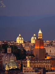 Luci, cupole e forme Roma (al.scuderi71) Tags: light sunset rome roma night photography after luci notte cupole