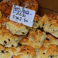 Bath Bun (pjpink) Tags: portobello market portobellomarket food nottinghill london england britain uk may 2016 spring pjpink