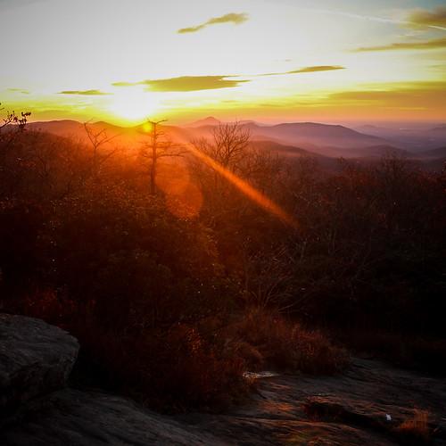 Sunset at Blood Mountain