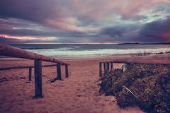 To the beach (mattsecombe) Tags: sand sea seascape water landscape pier stairs beach beauty australia sou southaustralia clouds colour