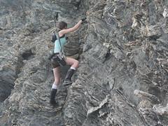 Shooting Lara Croft - Calanque du Mont Salva - Six Fours les Plages - 2016-08-11- P1500477 (styeb) Tags: shoot shooting lara croft 2016 aout 11 calanque mont salva sixfourslesplages t