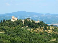 Castello di Fighine - 2 (anto_gal) Tags: toscana siena valdorcia sancasciano bagni 2016 castello fighine panorama castle