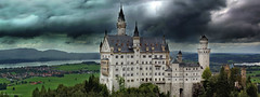 Sleeping Beauty Castle (Explored) (Boreal Impressions) Tags: neuschwansteincastle neuschwanstein castle germany sleepingbeauty romanesquerevival hohenschwangau bavaria architecture disney disneyland travel travelphotography extravagant palace outdoor