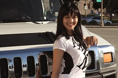 Photo Modeling (Prayitno / Thank you for (12 millions +) view) Tags: photo model modeling young cute cuties pretty beauty beautiful hot asian girl babe white color hummer limo limousine auto car outdoor day time sunny bright sunlight automobile act action pose poses acting smileplease