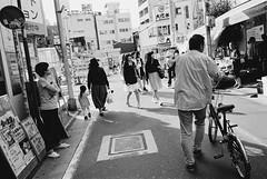 Shimokitazawa, Tokyo (fabiolug) Tags: light shadow shadows bike bicycle shimokitazawa people street streetphotography tokyo japan japanese asia leicamp leica mp rangefinder film filmphotography believeinfilm blackandwhite blackwhite bw kodaktrix400 trix400 kodak trix kodaktrix leicaelmarit28mmf28asph elmarit28mmf28asph elmarit28mm leicaelmarit28mm 28mm elmarit leicaelmarit wide wideangle