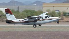 Aero Commander 500S N17DL (ChrisK48) Tags: 1969 500 aerocommander500s aircraft airplane dvt kdvt n17dl phoenixaz phoenixdeervalleyairport airattack