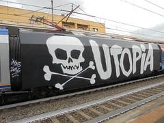 001 (en-ri) Tags: inxs 2016 train torino graffiti writing teschio skull wholecar toptobottom endtoend