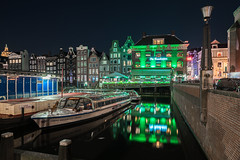 No Pain, No Gain (McQuaide Photography) Tags: amsterdam noordholland northholland netherlands nederland holland dutch europe sony a7rii ilce7rm2 alpha mirrorless 1635mm sonyzeiss zeiss variotessar fullframe mcquaidephotography adobe photoshop lightroom tripod manfrotto light licht night nacht nightphotography longexposure stad city capitalcity urban lowlight architecture outdoor outside old oud gracht grachtenpand canalhouse house huis huizen traditional authentic water reflection centrum gebouw building waterfront waterside canal colour colours color windows coffeeshop thegrasshopper tourism touristattraction travel damrak boat boot canalcruise rederijplas