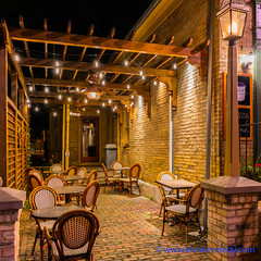 100 Days of Summer #83 - The Lonely Cafe (elviskennedy) Tags: 100daysofsummer 25 25mm a7 a7r a7rii a7rm2 alley batis brick bricks cafe cedarburg chain chairs closed coffee date datenight diner dining eat elvis elviskennedy empty evening exspresso fdoor fiddleheads franchise kennedy lamp lamppost lights lonely longexposure night outdoor outside ozaukee patio porch rafters restaurant roastery sony street streetlamp streetlights summer table walleye wi wisconsin wwwelviskennedycom yellow zeiss unitedstates us
