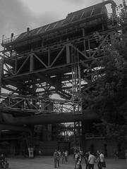 Blast-furnace (WrldVoyagr) Tags: hochofen blastfurnace deutschland photowalk germany gx7 500px blackandwhite duisburg bw panasonic lumix landschaftsparknord nordrheinwestfalen de