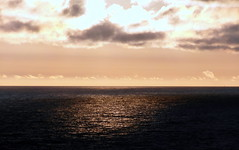 purple horizon (kexi) Tags: horizon reflection clouds sky purple pink water sea balticsea jastrzebiagora poland polska evening samsung wb690 august 2016 instantfave baltic