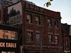 The Village (Jean S..) Tags: village toronto building lgbt gay sky windows brick red reflection urban city