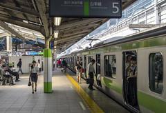 (Kilometers) Tags: tokyo japan jrlines yamanoteline