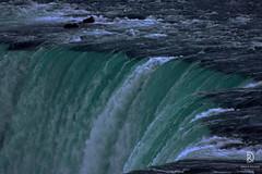 Niagara Falls Close-up (kaprysnamorela) Tags: niagarafalls water falls ontario canada nikond3300