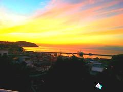 Ischia Island ...  Casamicciola ... Sunset on the sea (lucio_Kayak) Tags: italy ischia marepulito tramonti