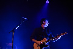 Jimmy Eat World (redrospective) Tags: 2016 20160908 islingtonacademyhall jimadkins jimmyeatworld london september2016 blue electricguitar gig guitar guitarist instruments live man music musicians people spotlight spotlights white