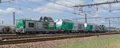 [FR-SNCF] BB 69228 + BB 75122 + BB 75121 + BB 69237 partant du dpt de Tours/St-Pierre pour Vierzon @La Ville aux Dames 23/07/2016 DSC_0925_DxO (yael.flament1) Tags: locomotives alsthom alstom bb69200 bb 69200 69228 69237 bb69228 bb69237 bb75100 bb75121 bb75122 75121 75122 locomotive tm train de machines sncf tours saint pierre des corps saintpierredescorps st stpierre