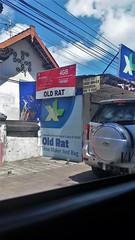 Old Rat Shoe Maker (SqueakyMarmot) Tags: travel asia indonesia bali 2016 denpasar sign store shoemaker