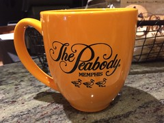 Taking a little piece of Memphis home with me (Hazboy) Tags: souvenir mug cup coffee ducks peabody hazboy hazboy1 memphis tennessee midsouth southland us usa america