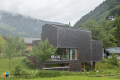 Another modern wooden house (HendrikMorkel) Tags: austria family sterreich bregenzerwald vorarlberg sonyrx100iv mountains alps alpen berge