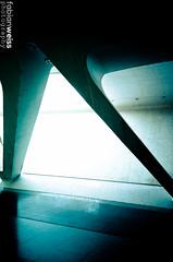 Ciudad de las artes y ciencias (fabian.weiss) Tags: city las santiago valencia architecture 35mm de spain arquitectura nikon y arts ciudad calatrava museo 1855mm nikkor artes sciences musem ciencias d5100
