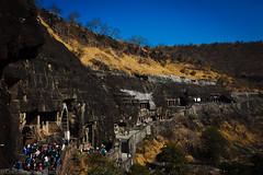 Ajanta Caves, Maharastra, India (January 2013) (Cor Lems) Tags: world india holiday heritage site break weekend january away unesco caves maharashtra cave ajanta 2013