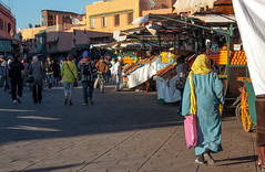 morroco in color (maria_daniela) Tags: blue color azul colorful market colorfull culture blues colores mercado morocco marroqui marrakech marrakesh marruecos cultura colorido jamaaelfna jmialfan