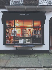 (Julius Hui) Tags: street city uk england london window vintage square warm europe russell mark bookstore leigh bookshop vscocam uploaded:by=flickrmobile flickriosapp:filter=nofilter colligne
