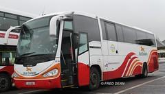 Bus Eireann SC312 (12D1009). (Fred Dean Jnr) Tags: dublin bus century coach scania buseireann irizar k340 february2013 sc312 12d1009 buseireannbroadstonedepot
