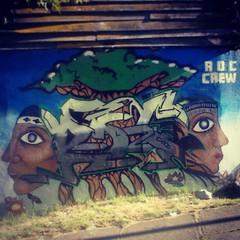 Graffomural Movimiento RDC crew, Rio negro .... arte y conciencia (Chize_RDC crew) Tags: chile urban art rio square graffiti calle stencil mural arte negro squareformat steet osorno mapuche indigena muralismo srteetart iphoneography instagramapp xproii uploaded:by=instagram foursquare:venue=4dcdcd9fd4c065592f6f7328