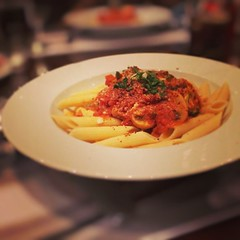 #penne arrabiata #pasta (~ it's OvEr) Tags: square squareformat mayfair iphoneography instagramapp uploaded:by=instagram