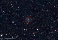 SH 290 (S Migol) Tags: pentax nebula astrophotography astronomy astrophoto dso smigol sharpless pentaxk10d deepskyobject Astrometrydotnet:status=solved stephenmigol stellarvuesv4 Astrometrydotnet:version=14400 abell31 copyright2013 sh2290 Astrometrydotnet:id=alpha20130223281412