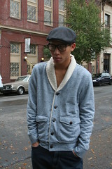 Exploring Portland (TNguyen1989) Tags: street gay cold fall hat portland asian glasses photoshoot boots or tights twink jeans suspenders jupiterhotel
