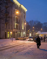 this comfortable winter night city light  DSCF2152 (andrey.salikov) Tags: city winter light comfortable night