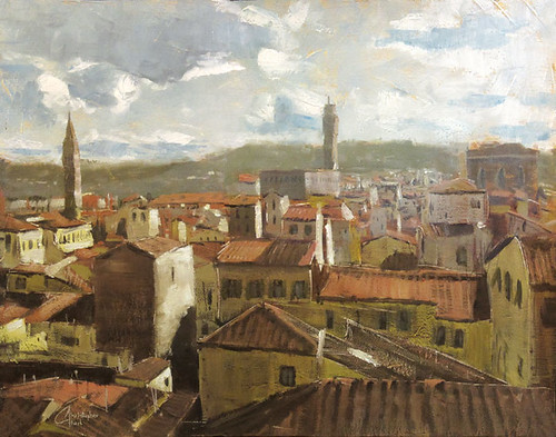 Florence, Italy, View from the Duomo