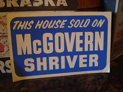 """1972 MCGOVERN CAMPAIGN POSTER • <a style=""""font-size:0.8em;"""" href=""""http://www.flickr.com/photos/51721355@N02/8512615705/"""" target=""""_blank"""">View on Flickr</a>"""