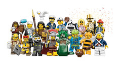 LEGO Collectible Minifigures Series 10 - 71001 (THE BRICK TIME Team) Tags: city brick lego space pirates series minifig collectible minifigs serie collectable cmf minifigures 2013 71001 minifigur sammelfiguren