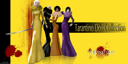 Tarantino Dolls Collection AD