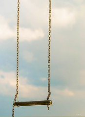 The Swing  /  L'Altalena (OCEANIABLU wants to live in Sicily) Tags: cloud rome roma nuvole nuvola swing dreamer spiaggia bulut febbraio anzio explored 2013 febbruary sognatore hayalperest salincak sognatrice altelena